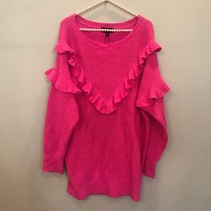NWT Pink Express Sweater
